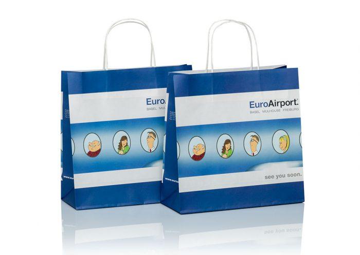 Papiertüten mit Airport Bag von CREATEAM PROMOTION